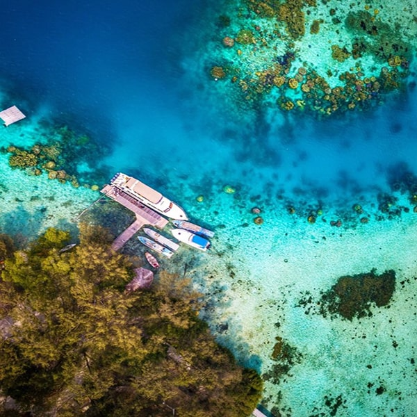 wisata eksklusif Pulau macan